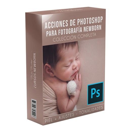 acciones photoshop para fotos newborn
