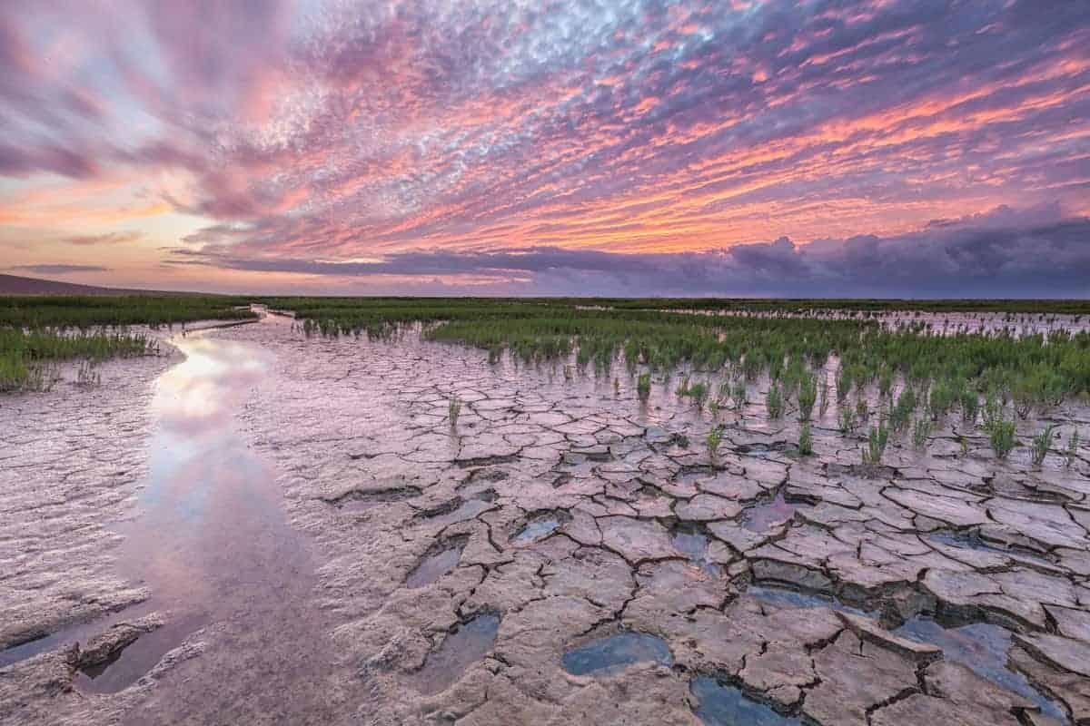 Fotografiereis Groninger Waddenkust sunset Emmapolder
