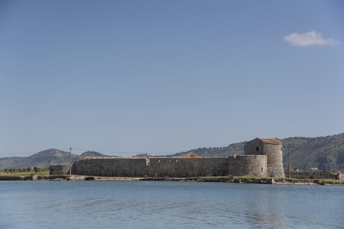 Fotoreis Albanië - Vesting in de buurt van Butrint
