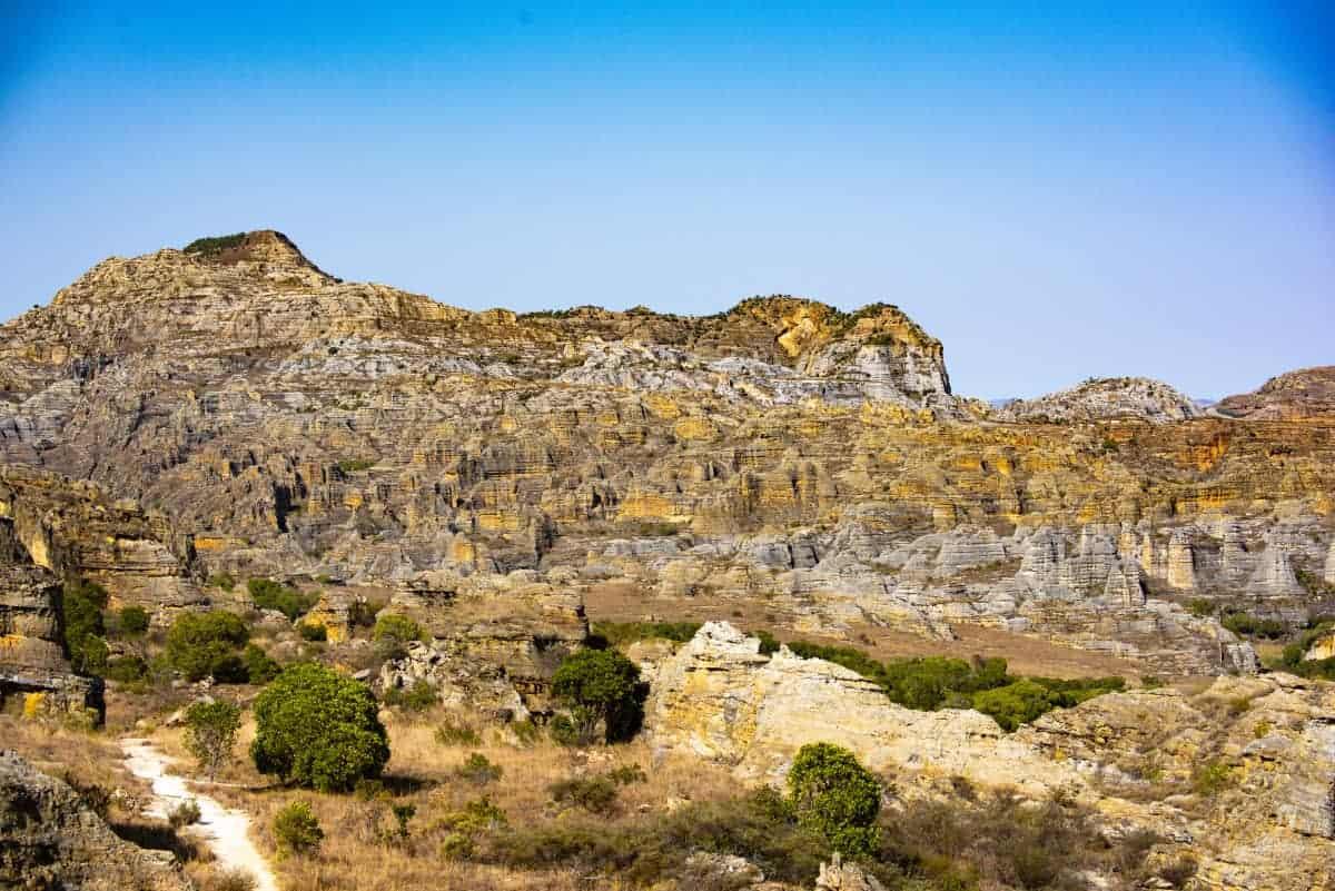 Fotoreis Madagaskar Isalo landschap