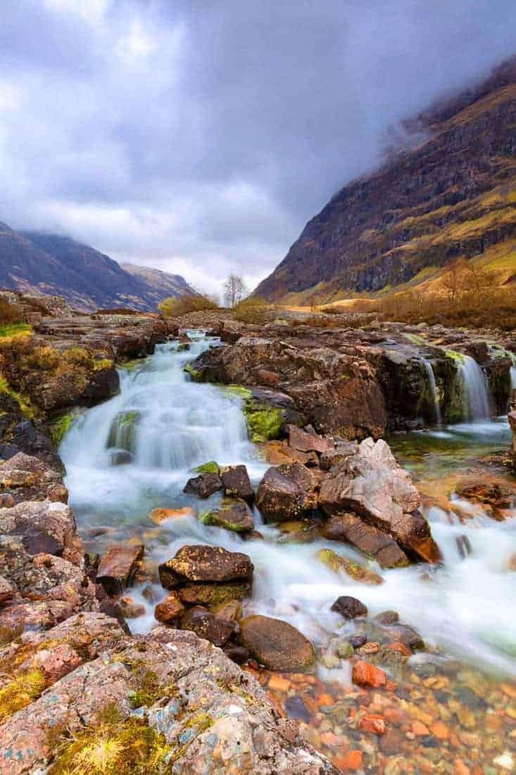 Fotoreis Schotland - Clachaig falls