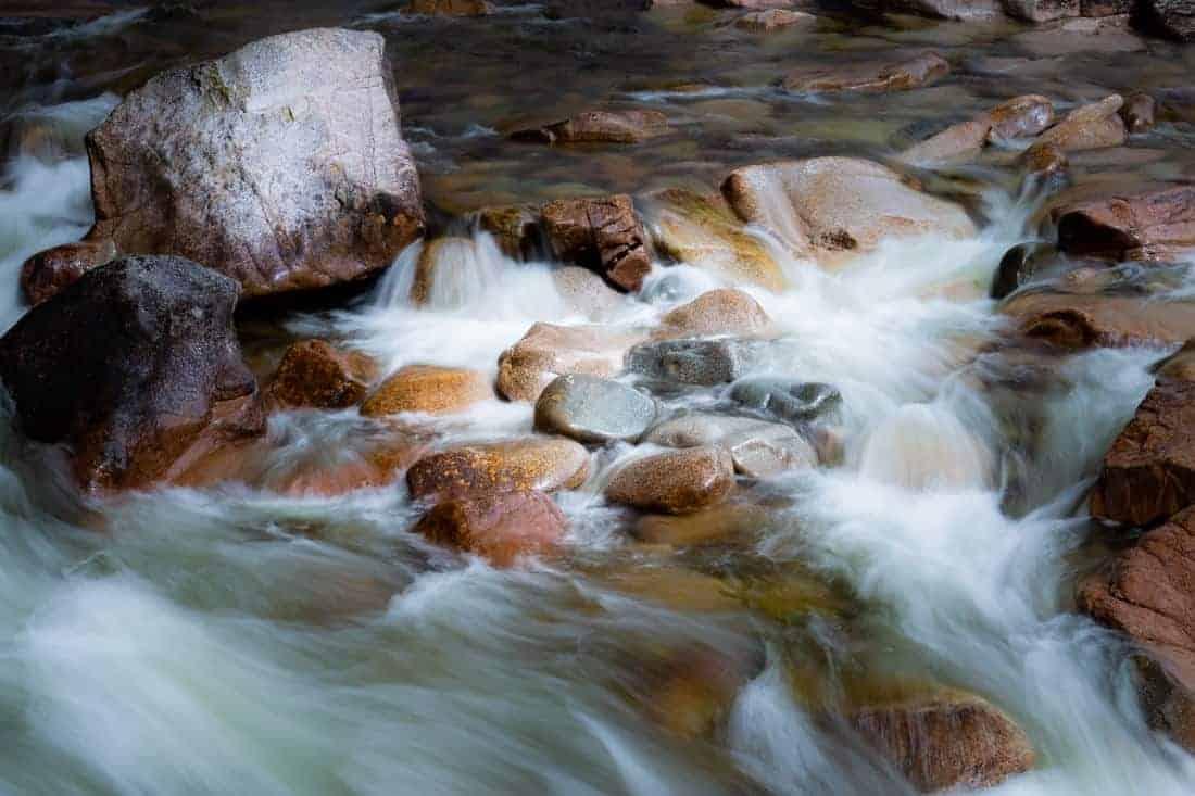 Fotoreizen Schotland - Waterval met lange sluitertijd