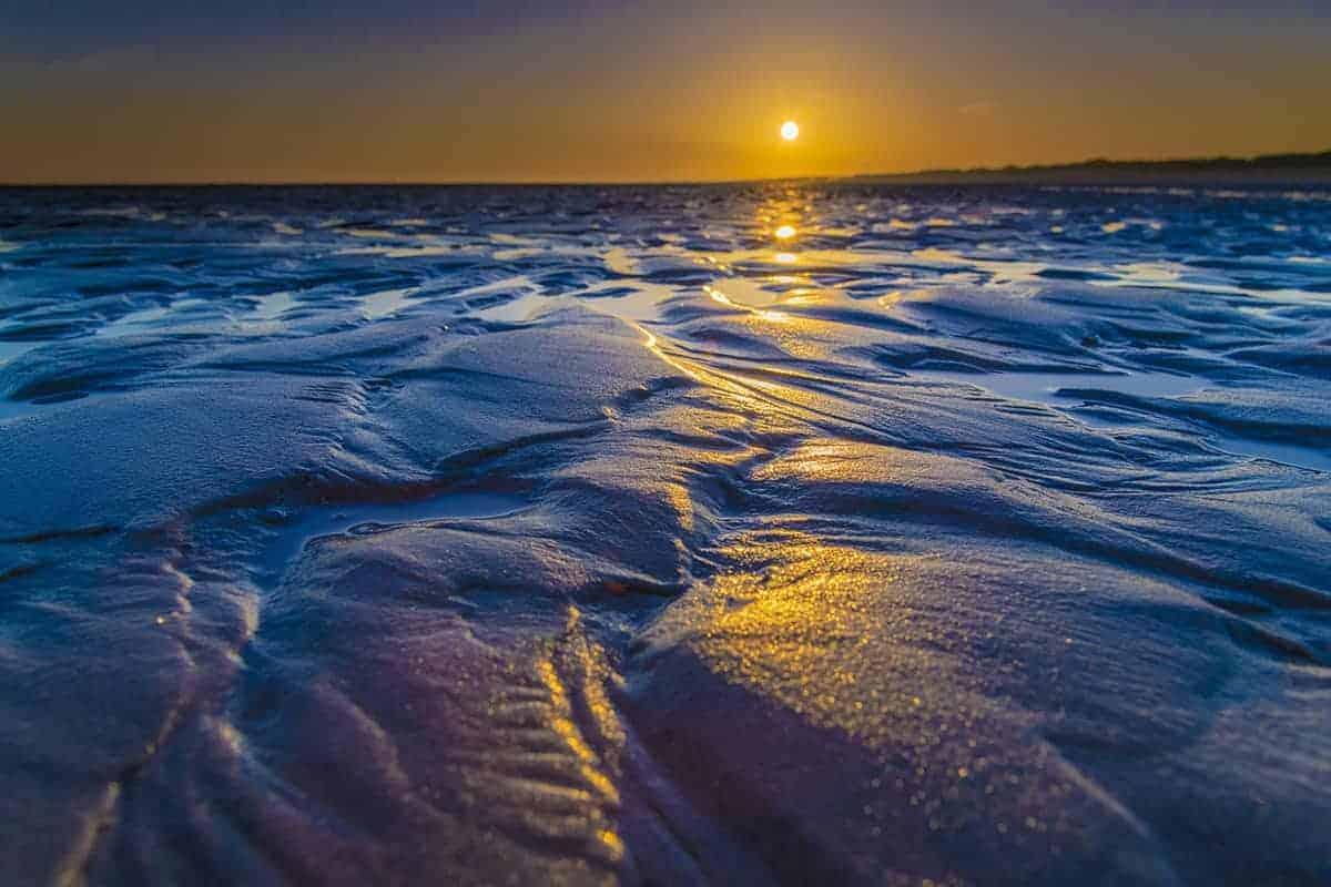 Fotoweekend Ameland - Zonsopkomst bij strand Nes