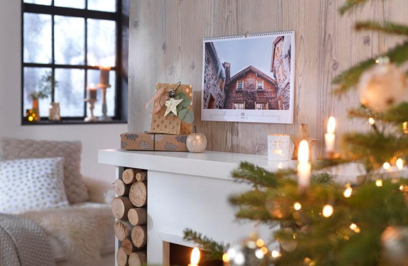 Jeden Monat ein anderes Motiv - auch selbst gestaltete Fotokalender sind ein beliebtes Weihnachtspräsent.
