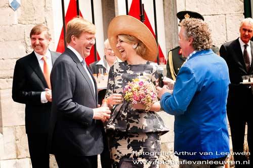 fotografie Arthur van Leeuwen bij Koning Willem-Alexander en Koningin Máxima