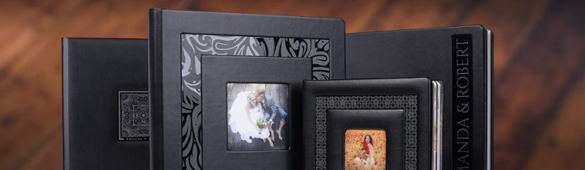 Black Pearl album met foto en tekst. Leverbaar in verschillende kleuren zowel in linnen of eco leder