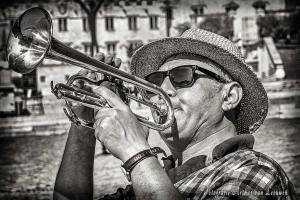 trompettist, Avignon