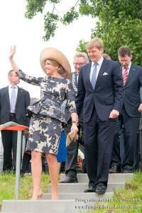 koning Alexander, koningin, Maxima, Duiven, gelderland, Wageningen