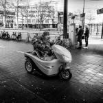 Straatfotografie, Arnhem, scootmobiel