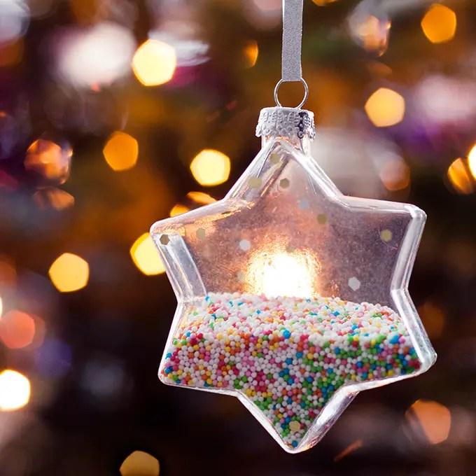 bokeh fotograferen kerstboom