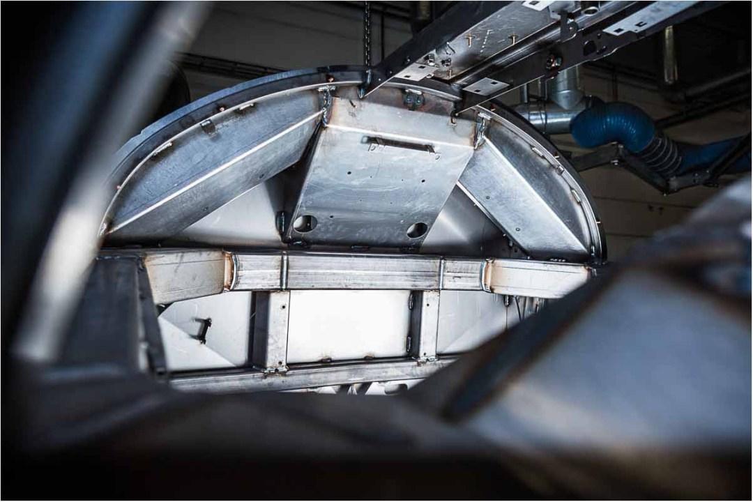 speciale i fotografering af store industrimaskiner af stål