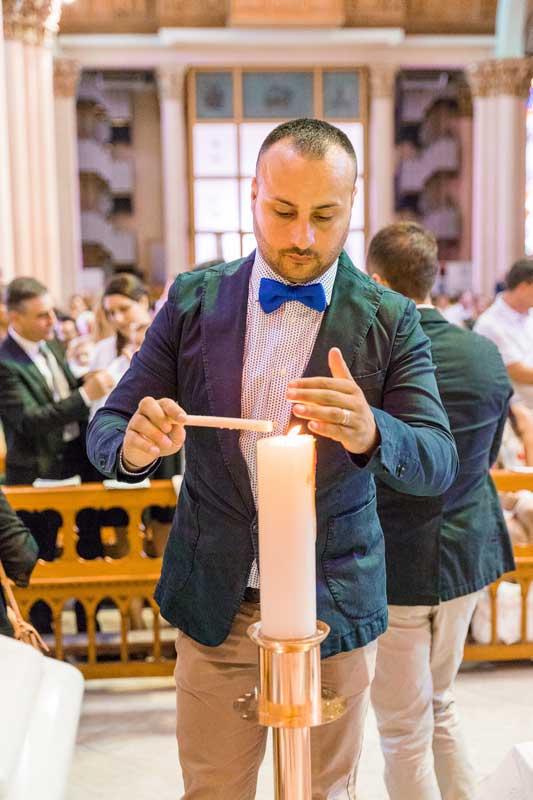 reportage battesimo bari, chiesa San Salvatore