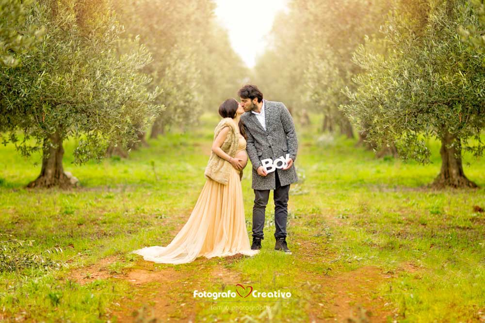 fotografo gravidanza bari