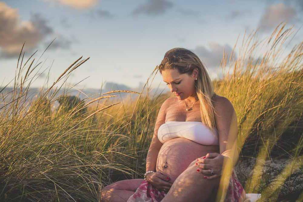 gravid fotografering udendørs Odense