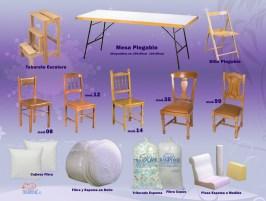 Catálogo y fotos para Muebles Paula