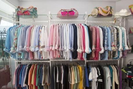 camisas en tienda