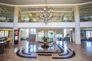 Entrada Hotel Los Abetos