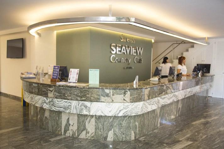 Recepción Hotel Seaview Country Club