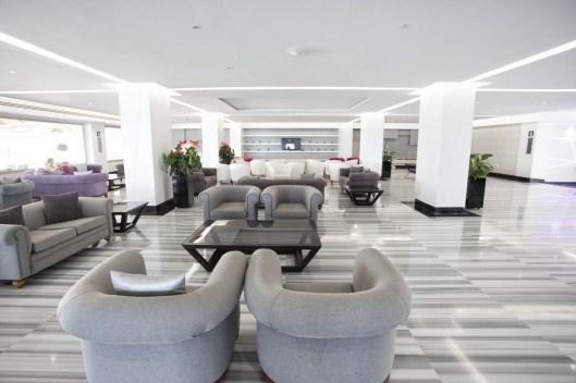 Espacio interior del hotel