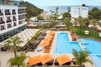 Vista Aérea piscina Hotel Aguas de Ibiza