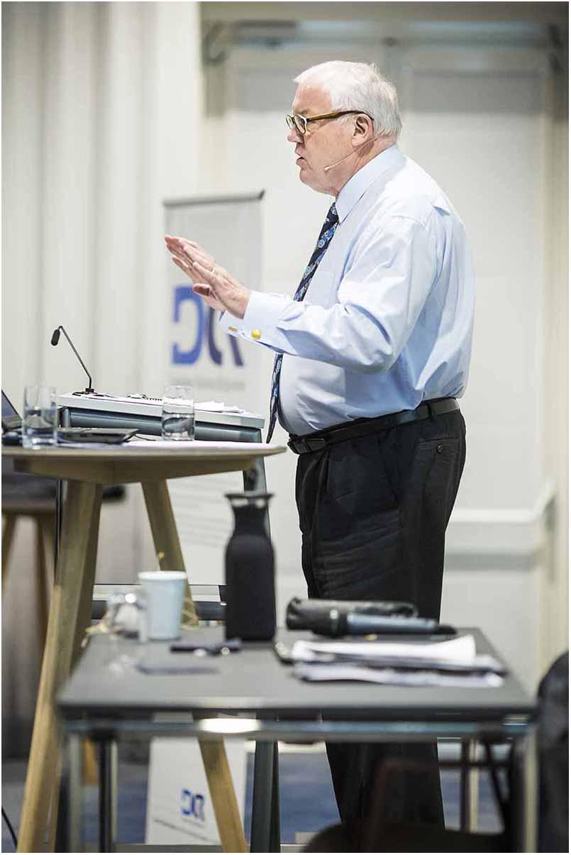 taler ved konference Randers