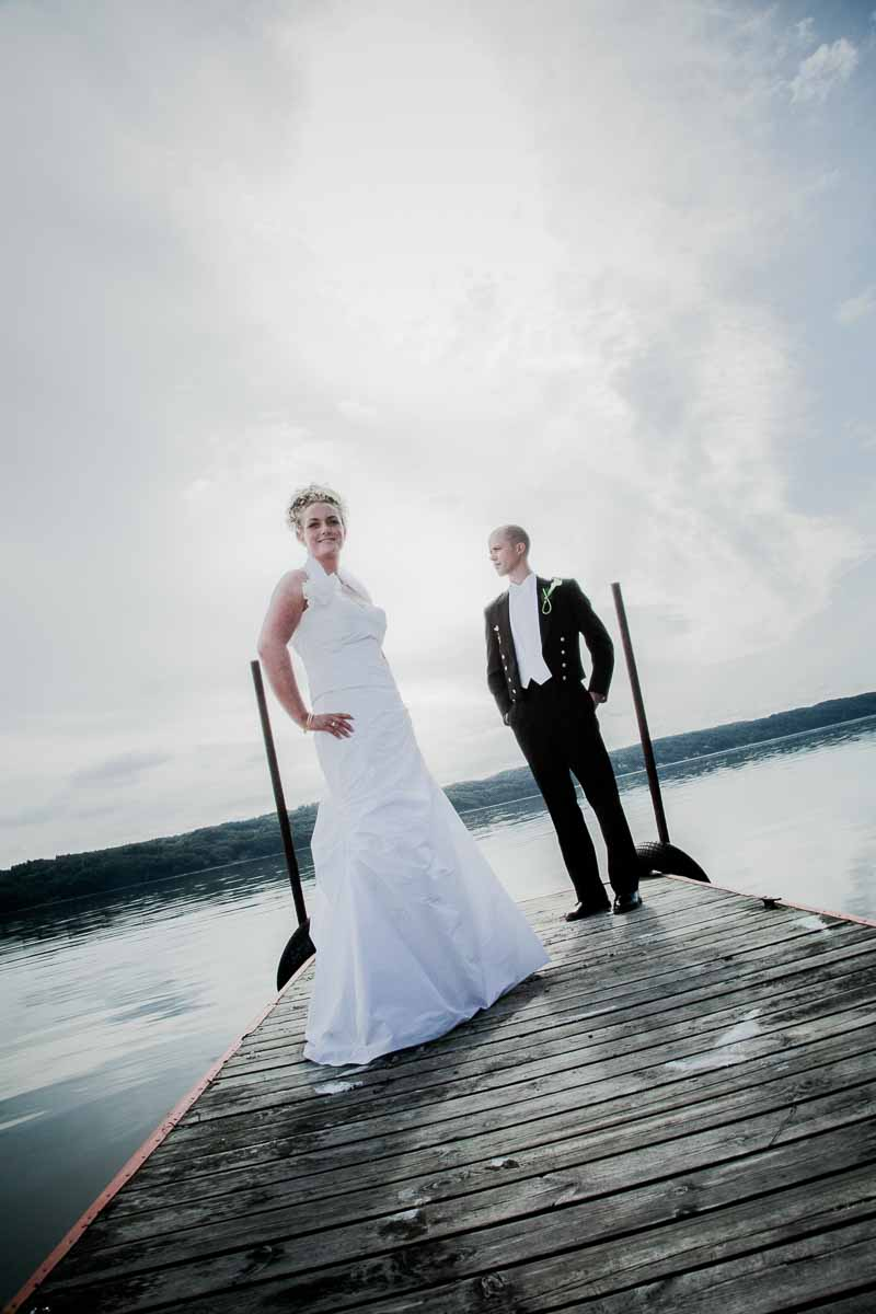 DIY bryllup i en spejderhytte i Nordjylland