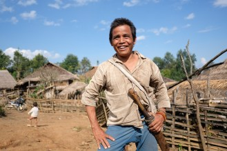 Kmen Lahu-Shi, vesnice Pang Ka