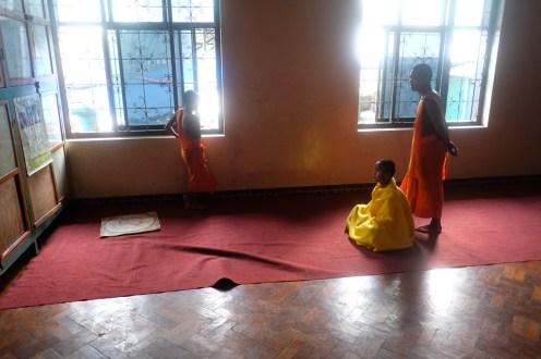 V klášteře, Keng Tung, Šanský stát