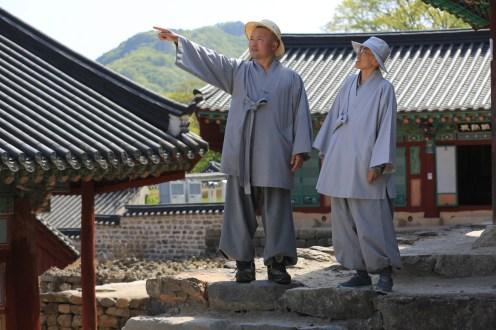 Přátelská návštěva z jiného kláštera...