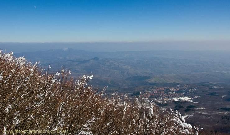 Monte Amiata con le ciaspole
