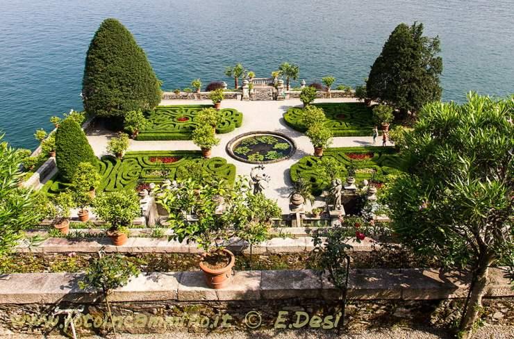 Lago Maggiore isole ville cime