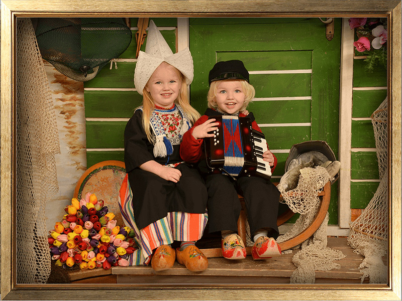 photo taken in clothes Volendam