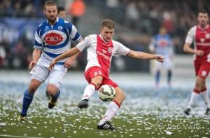 Voetbal IJsselmeervogels-Spakenburg