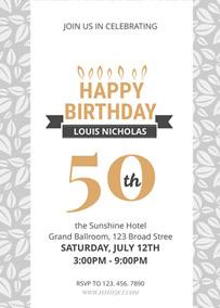online birthday invitation maker make