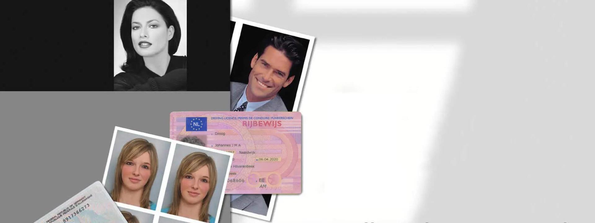 Pasfoto in een keer goed