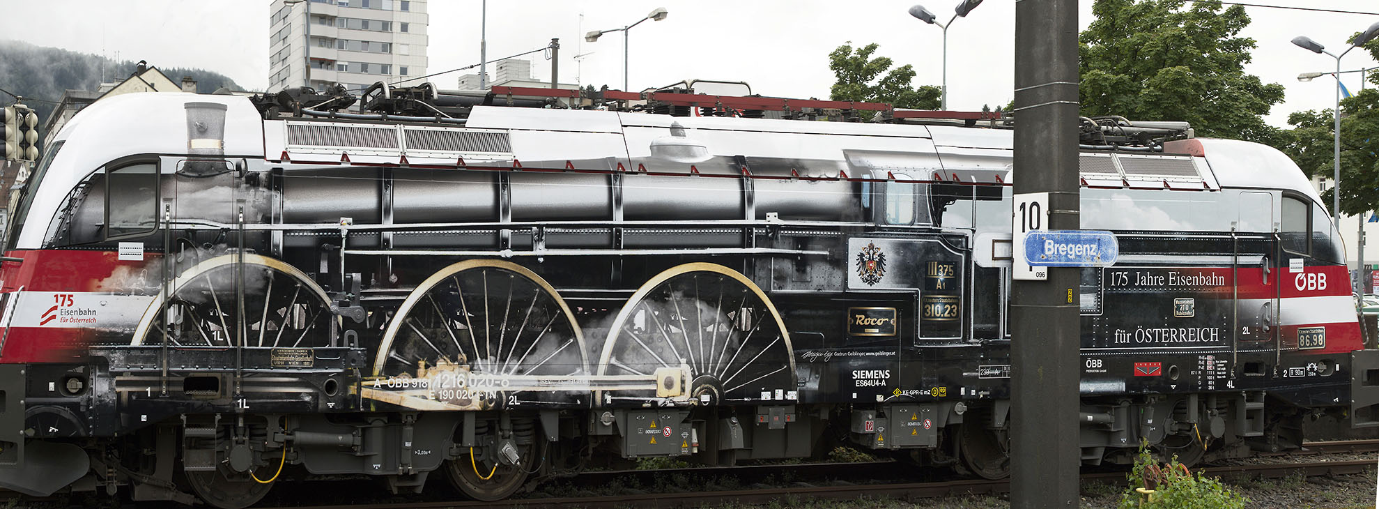 175 Jahre Eisenbahn Österreich