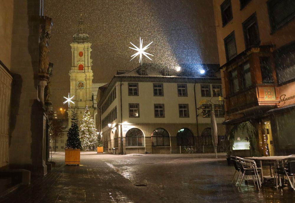 Advent in der Stadt St. Gallen