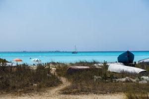 Skulle trodd det var Karibien, men det er faktisk Italia. En sykt fin strand med den mykeste melaktige sanden du kan tenke deg. Stranden ligger i Rosignano Solvay, en drøy halvtime fra Livorno.