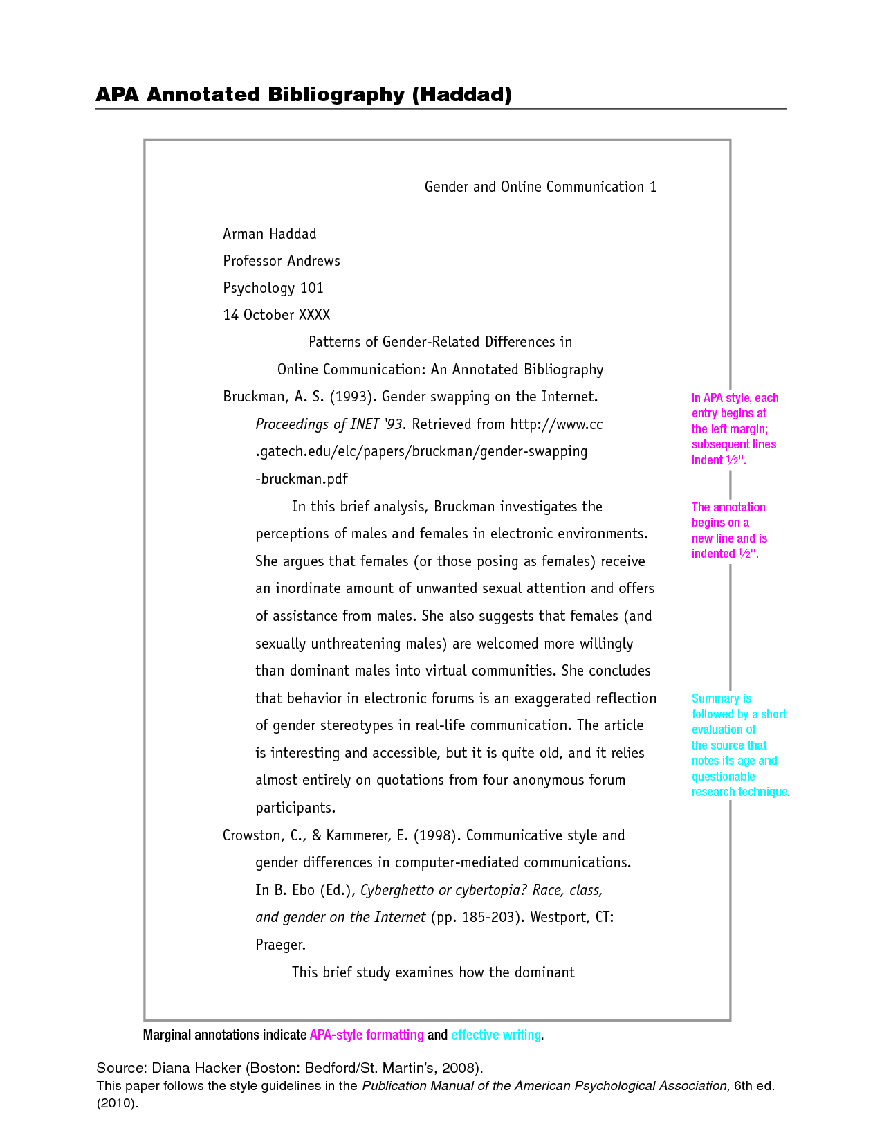 examples of apa style papers koni polycode co