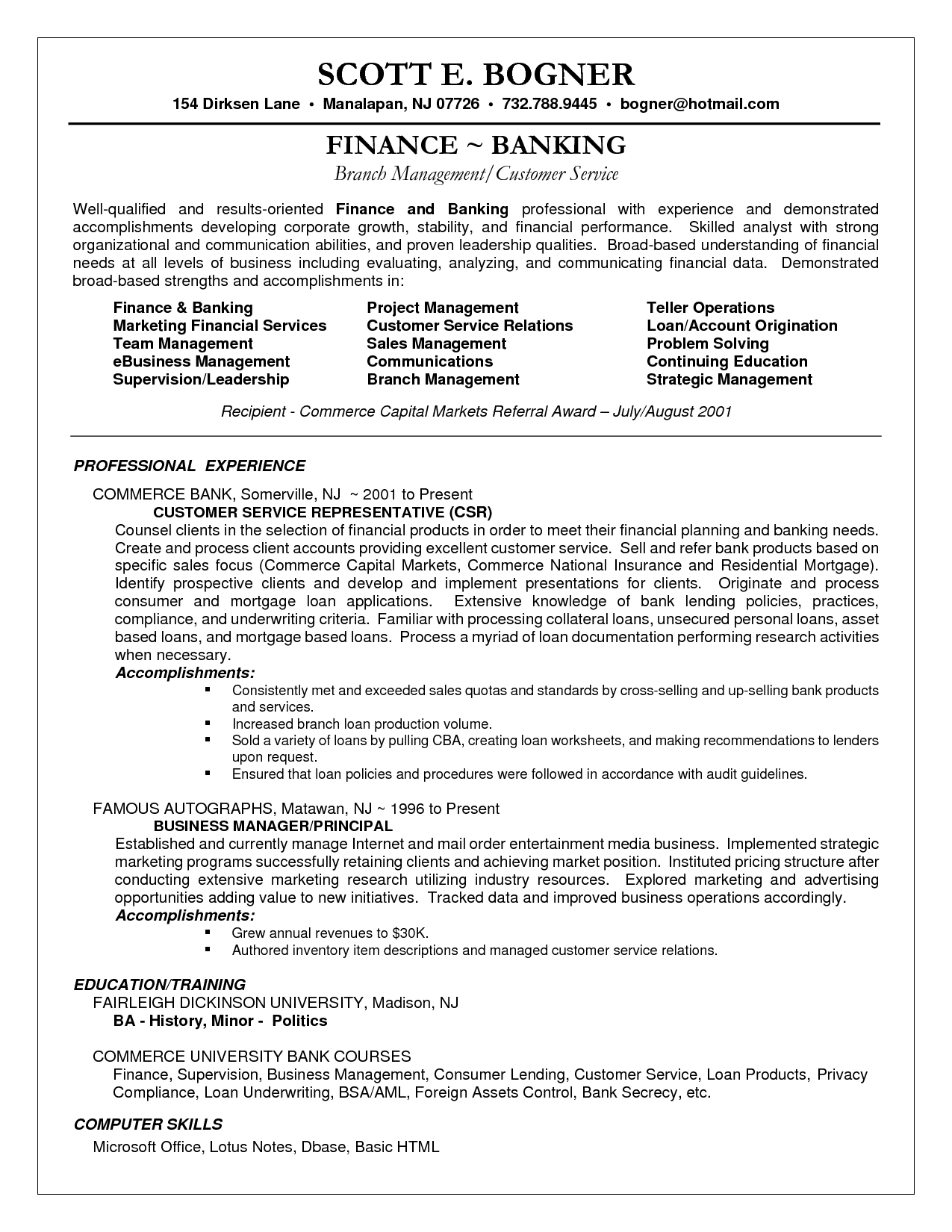 Customer Service Sales Resume Sample Resume For Entry Level Sales