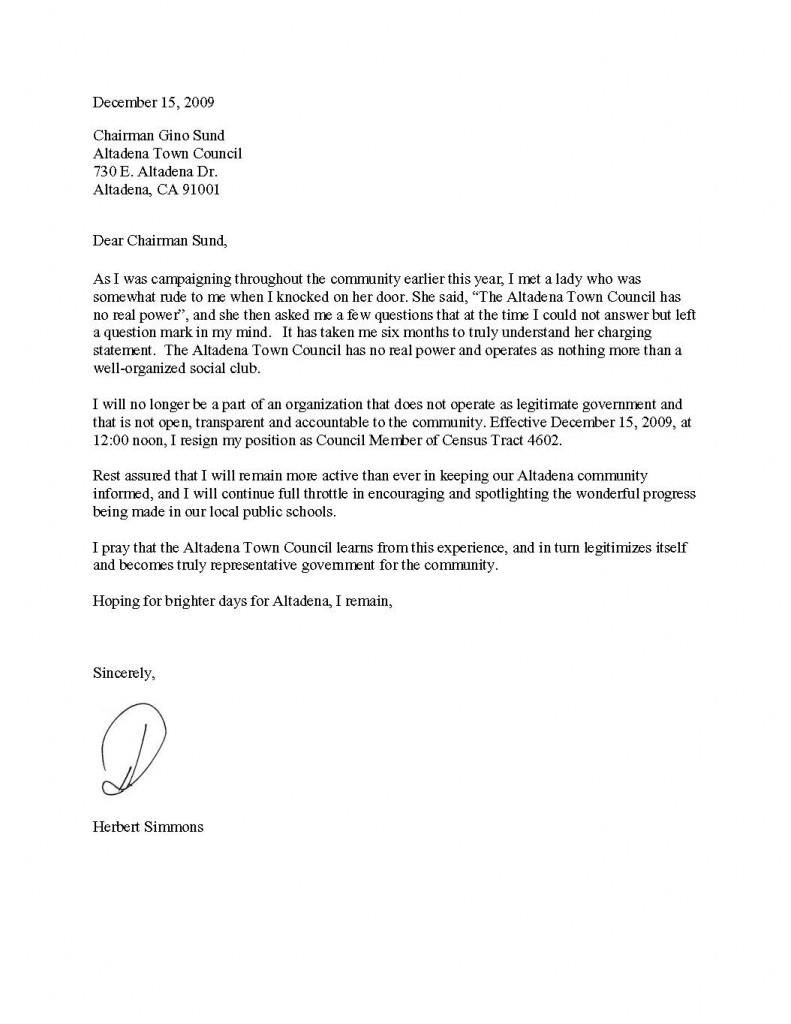 how to write a resignation letter fotolip com rich image and