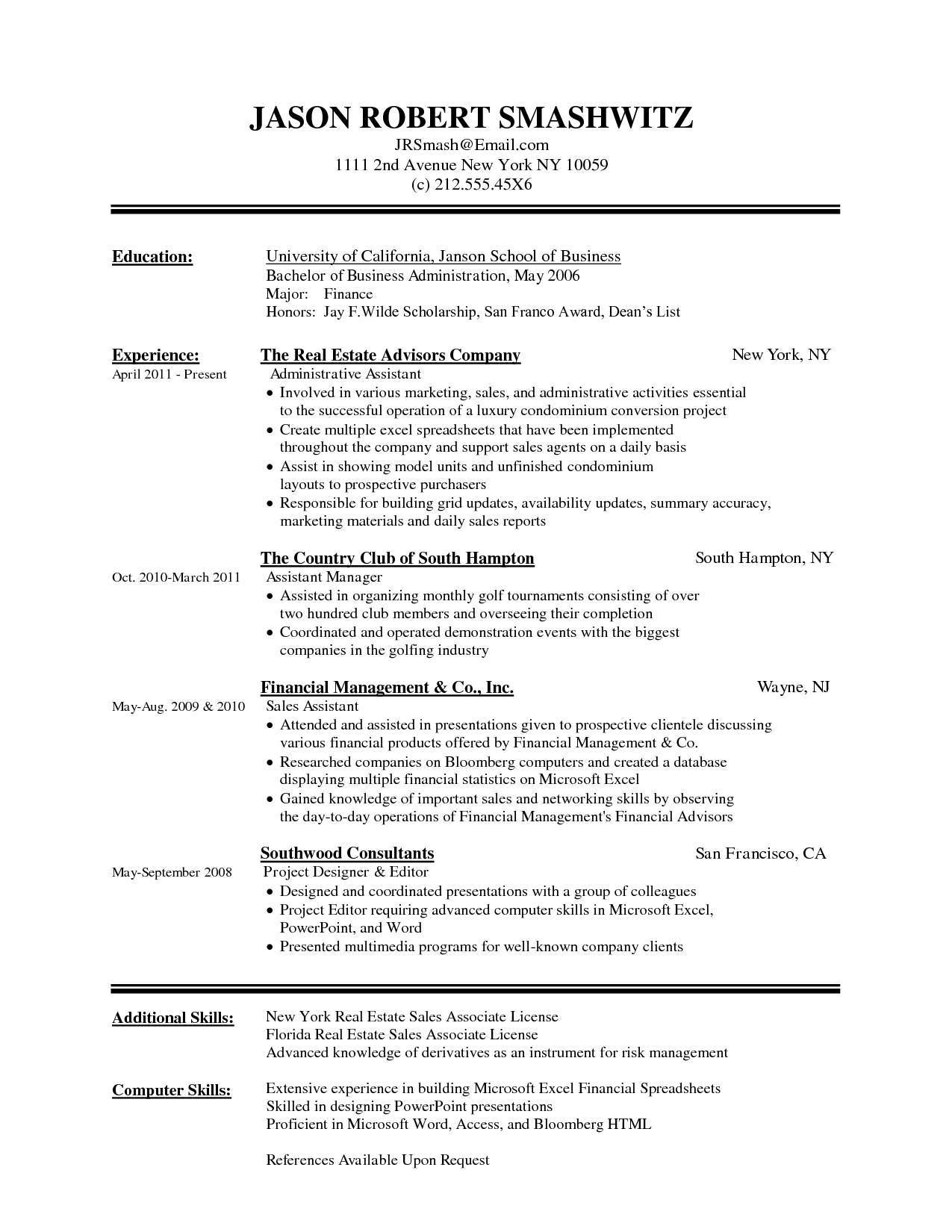 beautiful resume format in word free download resume format word format word format for resume - How To Open Resume Template Microsoft Word 2007