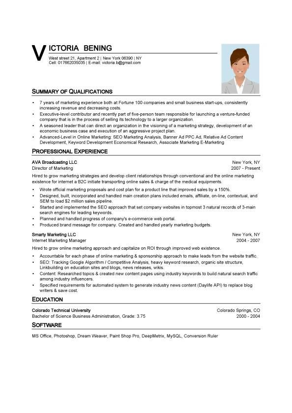 cv templates word format curriculum vitae in ms word format vitae