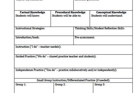 Excel Project Timeline Template Free Create A Lesson Plan Template