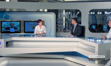Interview at the television network 7RM