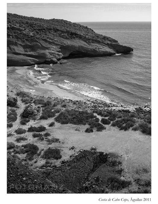 Costa de Cabo Cope en Águilas