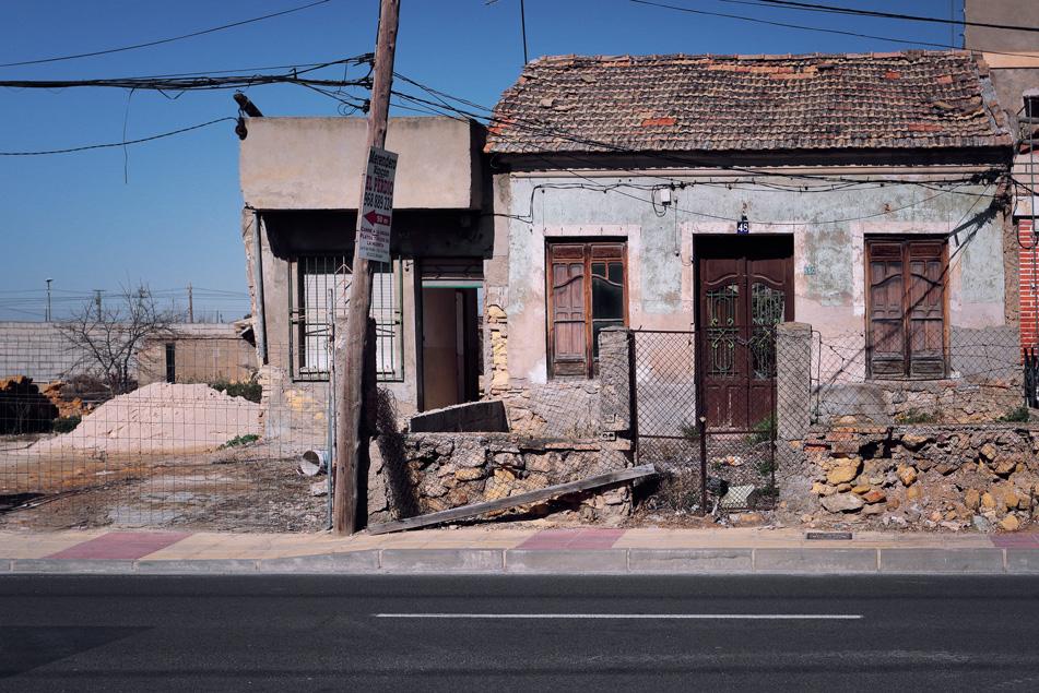 Carretera de el Palmar (Murcia)