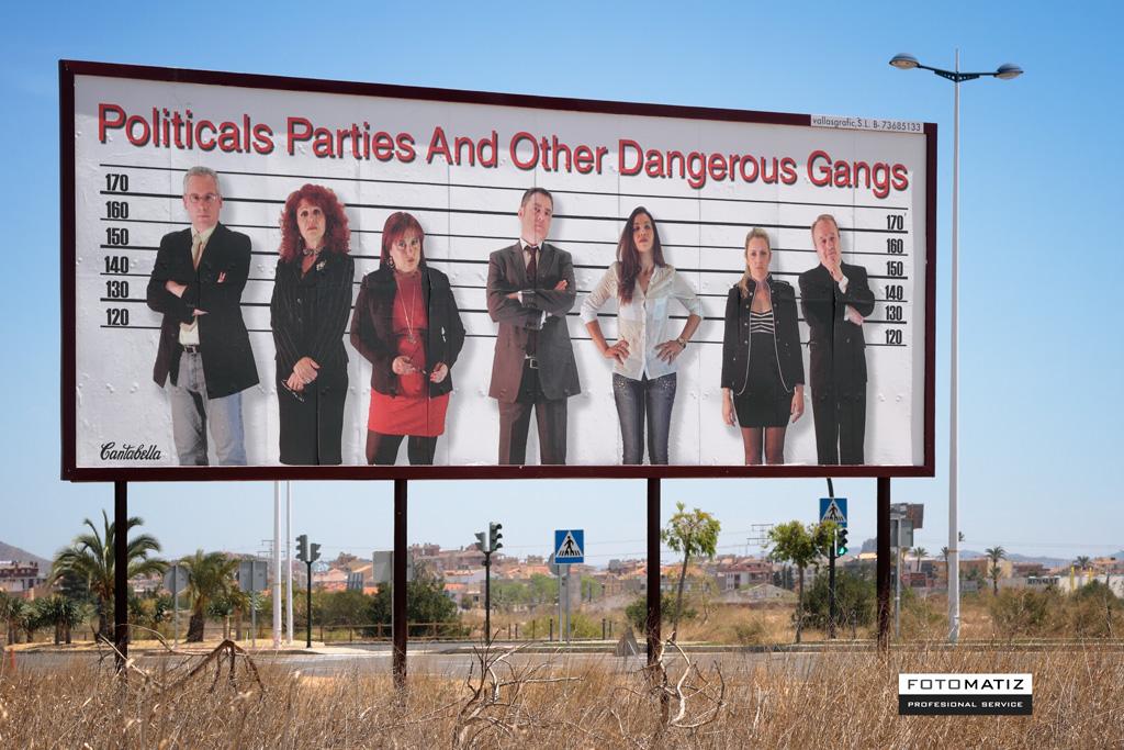 Partidos Politicos y otras Peligrosas Bandas