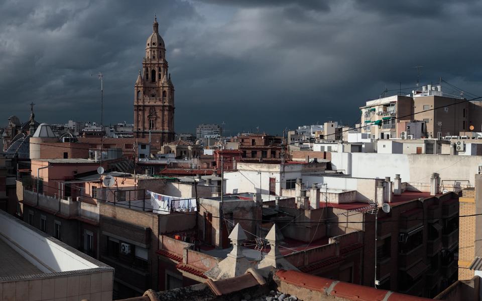 Panorámica catedral de Murcia