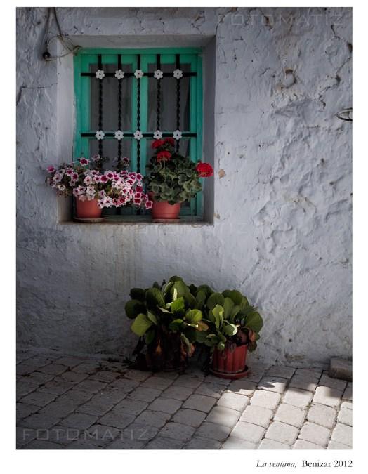 Una ventana en Benizar